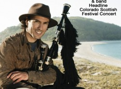 RENOWN SPANISH BAGPIPER CARLOS NÚÑEZ HEADLINES 2014  COLORADO SCOTTISH FESTIVAL, AUG. 9-10