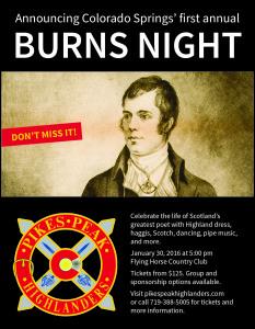 Burns night CoSpgs ad