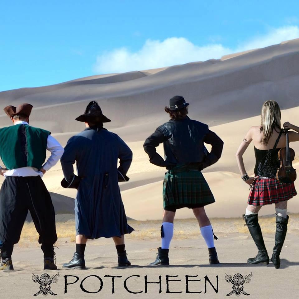 Potcheen Folk Band Headlines Englewood Arts Starlight Rhythms February Concert Series