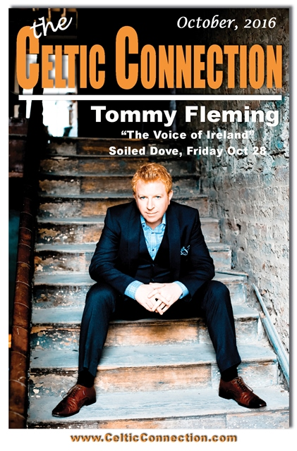 """IRISH NIGHT at the Soiled Dove, Denver  With TOMMY FLEMING """"Voice of Ireland"""" Friday October 28"""