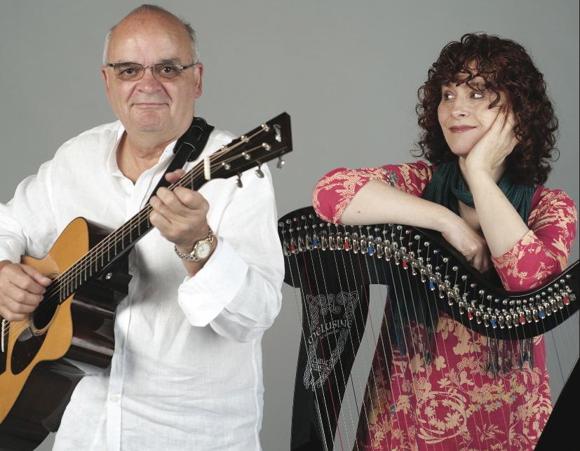 Chris Newman & Máire Ní Chathasaigh  Celtic Harp and Guitar in Concert October 7