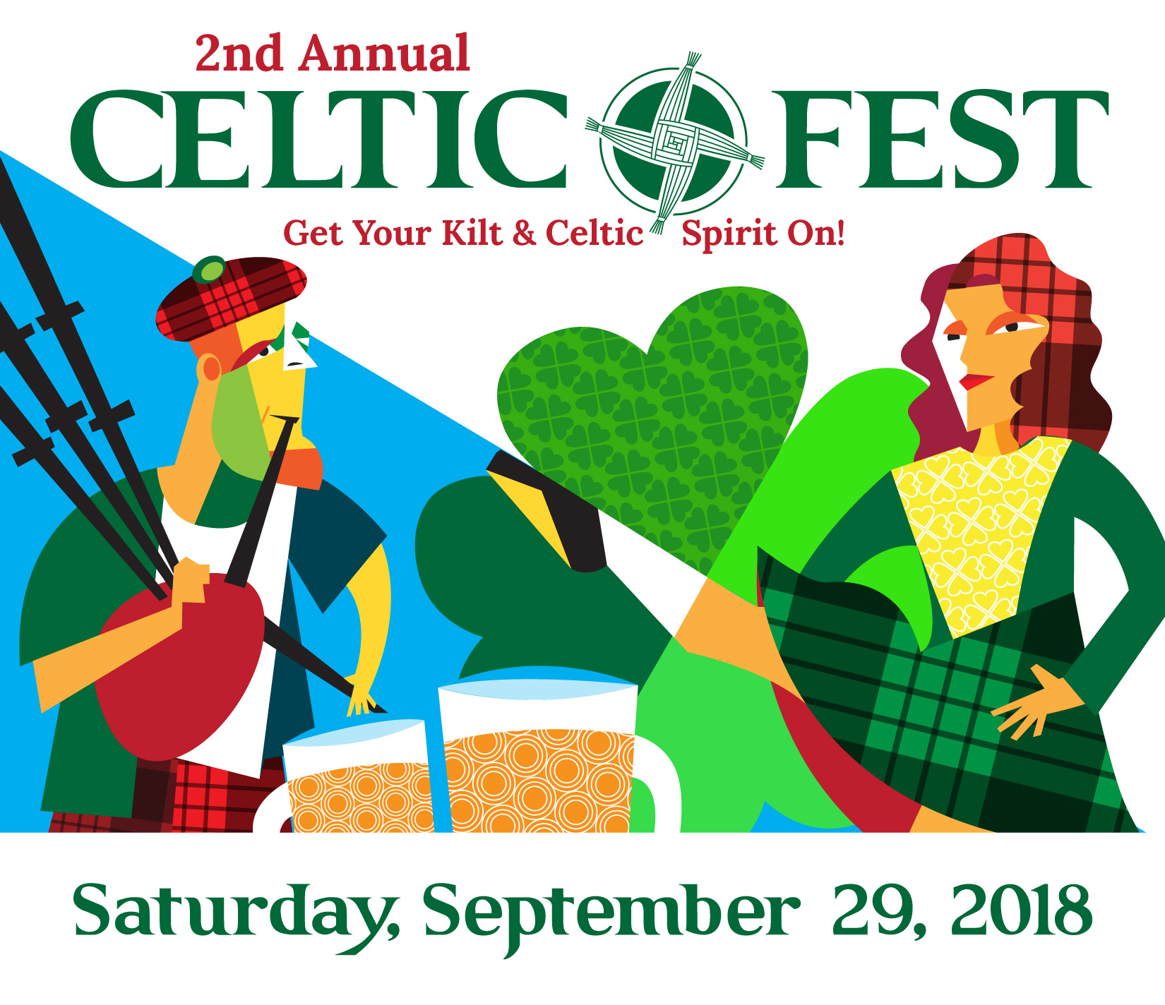 St. Brigit's Celtic Fest Saturday, Sept 9: A Benefit to Feed the Hungry In Carbon Valley