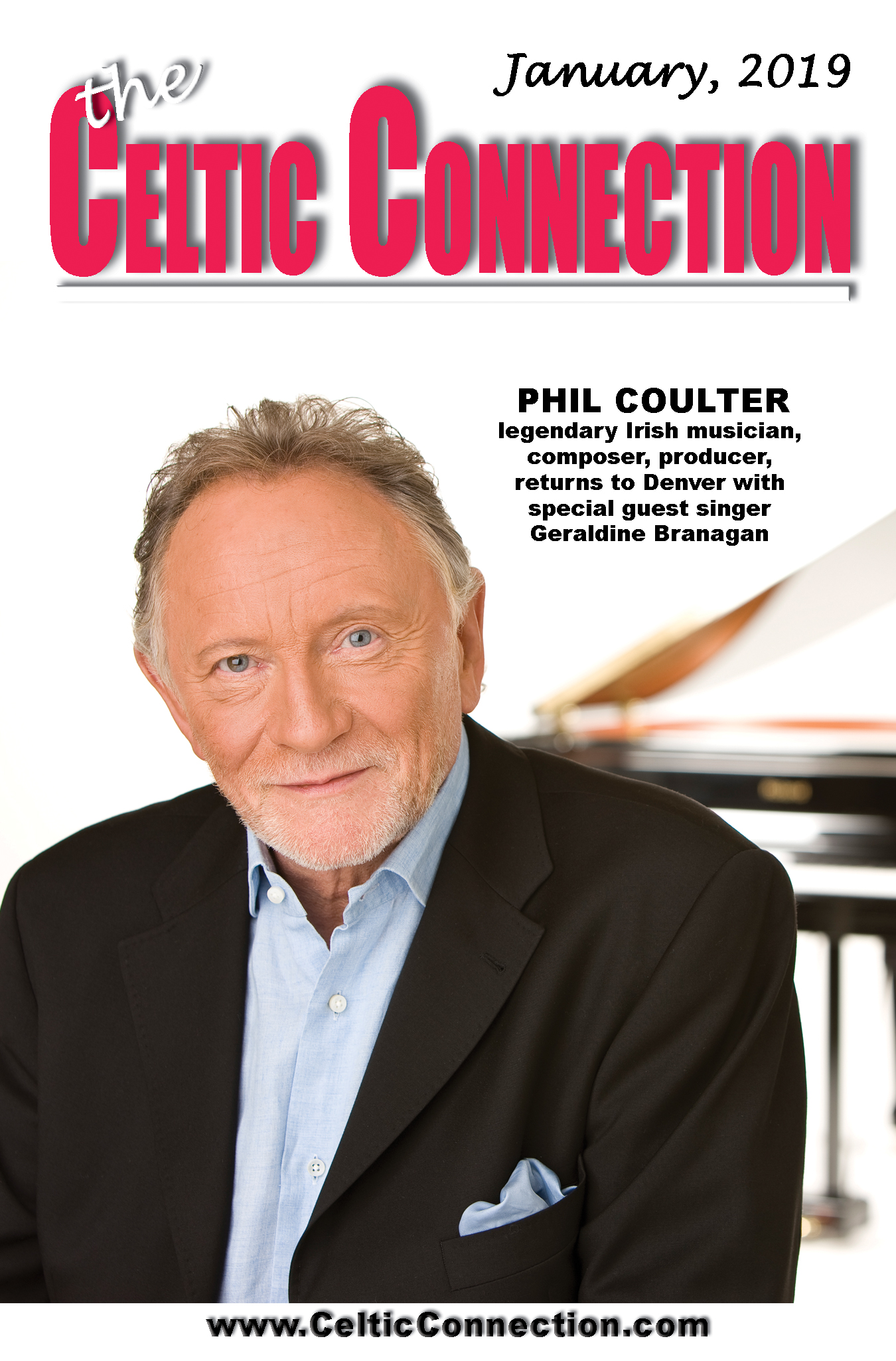 An Evening with the legendary PHIL COULTER with special guest singer Geraldine Branagan