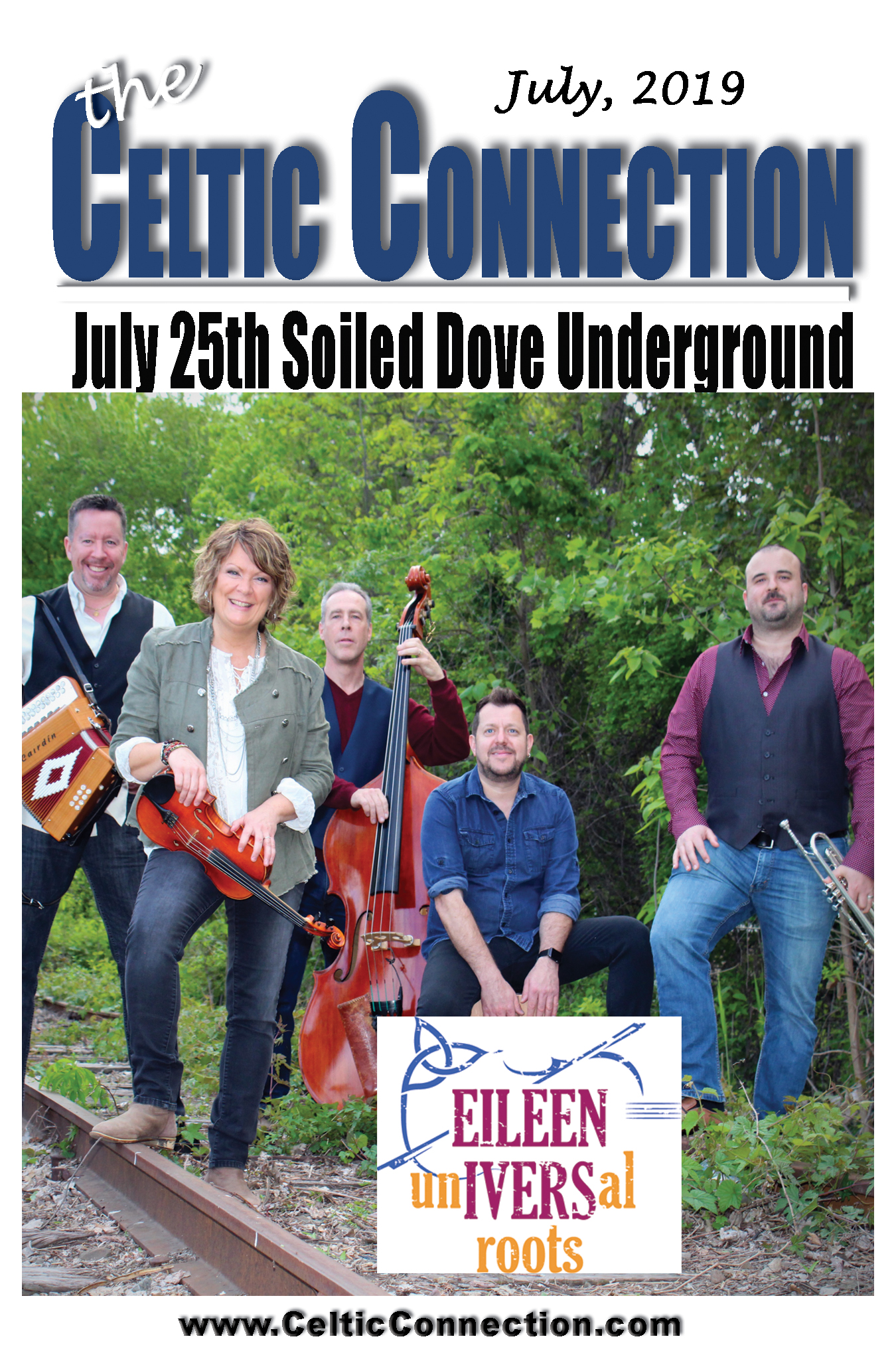Eileen Ivers Universal Roots Return to Denver July 25
