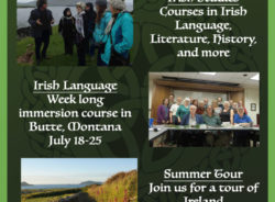 Friends of Irish Studies in the West offer 2020 Irish studies programs and travel to Ireland